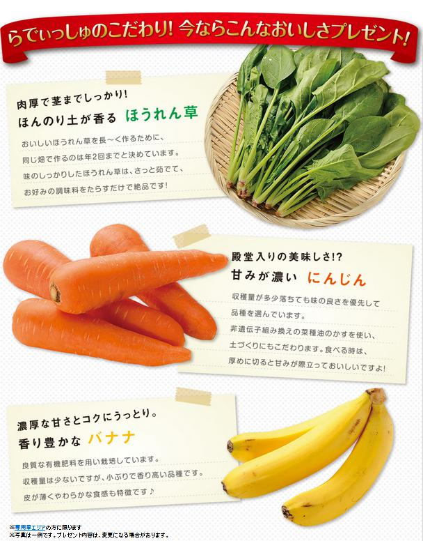 らでぃっしゅぼーやの【濃い野菜】