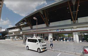 JR二条駅西口